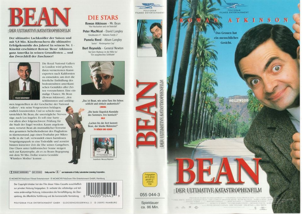 Bean Der ultimative Katastrophenfilm VHS Cover
